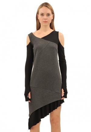 Платье Pavel Yerokin. Цвет: серый
