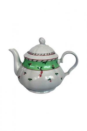 Чайник 1,20 л с крышкой Thun1794. Цвет: белый