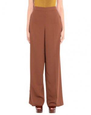 Повседневные брюки COMPAGNIA ITALIANA. Цвет: верблюжий