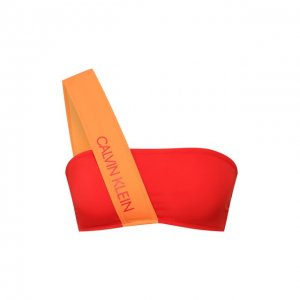 Бра-бандо Calvin Klein. Цвет: красный
