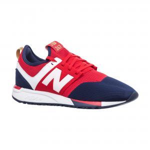 Кроссовки NB247 New Balance. Цвет: разноцветный, черный, бежевый, синий, белый
