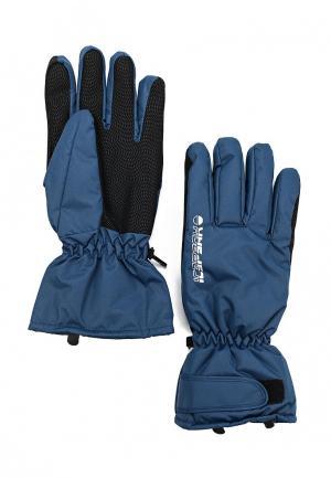 Перчатки горнолыжные Icepeak DINO. Цвет: синий
