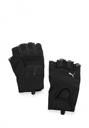 Перчатки для фитнеса PUMA TR Gloves. Цвет: черный