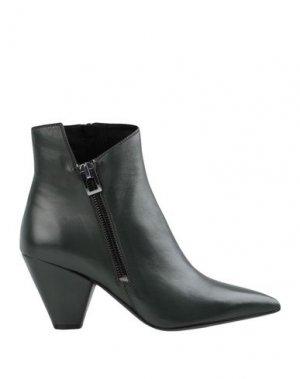 Полусапоги и высокие ботинки BRUNO PREMI. Цвет: темно-зеленый