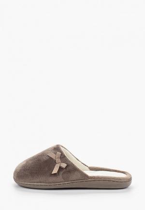Тапочки Marks & Spencer. Цвет: коричневый