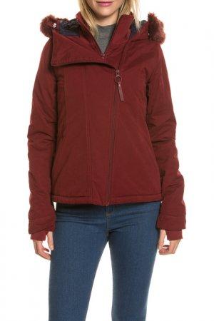 Jacket Bench. Цвет: burgundy