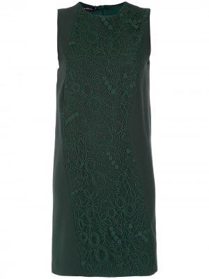 Short dress Gloria Coelho. Цвет: зеленый