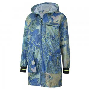 Куртка CSM AOP Jacket PUMA. Цвет: белый