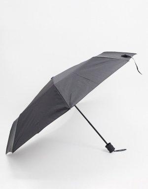 Черный зонт с логотипом Farah