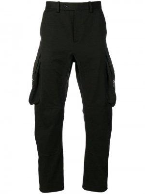 Классические брюки карго Neil Barrett. Цвет: черный
