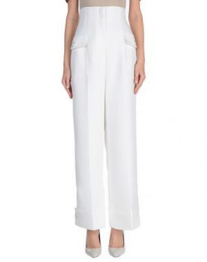 Повседневные брюки LIBERTINE-LIBERTINE. Цвет: белый