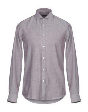 Pубашка HAVANA & CO.. Цвет: красно-коричневый