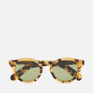 Солнцезащитные очки Martineaux Oliver Peoples. Цвет: коричневый