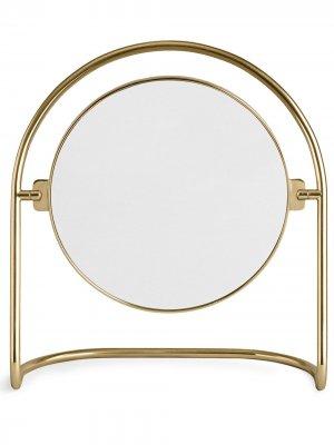 Настольное зеркало Nimbus Menu. Цвет: polished brass