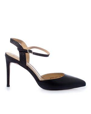 Туфли HS702B 37 черный Just Couture. Цвет: черный