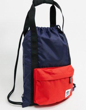 Темно-синяя спортивная сумка Premium Essentials-Мульти adidas Originals