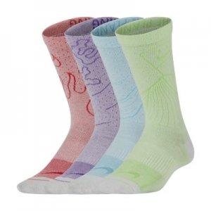 Носки до середины голени для школьников Nike Swoosh Lightweight (2 пары) - Мультиколор