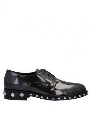 Обувь на шнурках GIANCARLO PAOLI. Цвет: стальной серый