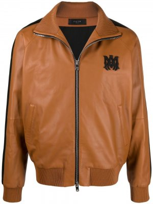 Куртка-бомбер на молнии AMIRI. Цвет: коричневый