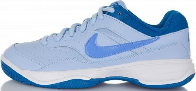 Кроссовки женские Court Lite, размер 37,5 Nike. Цвет: голубой