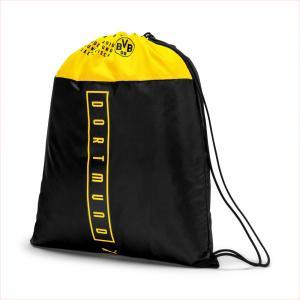 Рюкзак BVB Fan Gym Sack PUMA. Цвет: черный