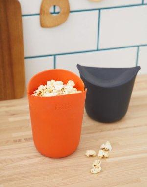Набор для приготовления попкорна в микроволновой печи Joseph. Цвет: мульти