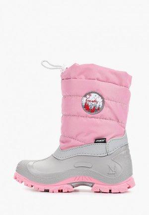 Дутики Gusti. Цвет: розовый