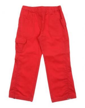 Повседневные брюки BRUMS. Цвет: красный