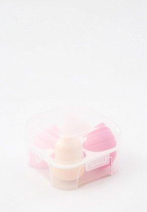 Набор спонжей для макияжа Hatparad 4 шт. BP SPONGE. Цвет: разноцветный