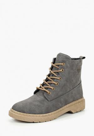 Ботинки Trien. Цвет: серый