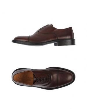 Обувь на шнурках ALKIS. Цвет: темно-коричневый