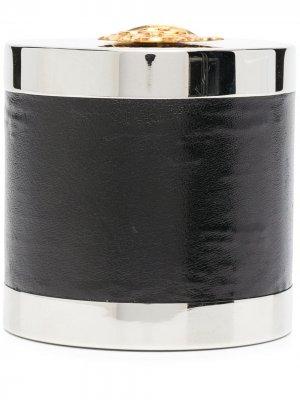 Декорированная шкатулка pre-owned Hermès. Цвет: черный