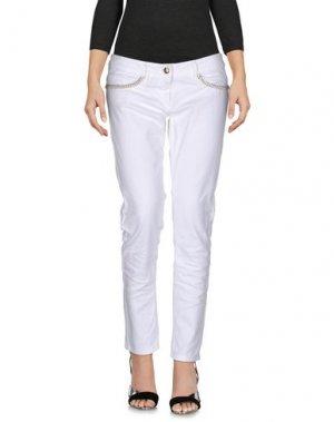 Джинсовые брюки BETTY BLUE. Цвет: белый