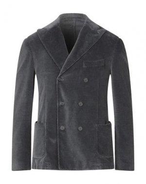 Пиджак SANTANIELLO. Цвет: свинцово-серый
