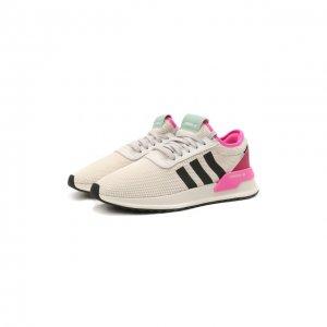 Текстильные кроссовки U Path-X adidas Originals. Цвет: белый