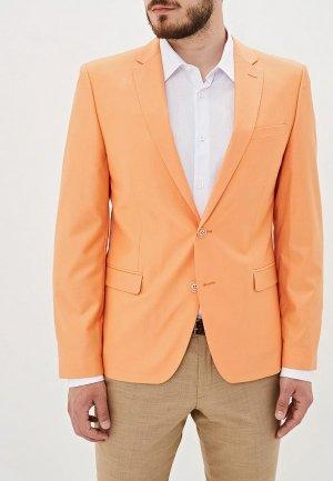 Пиджак Absolutex. Цвет: оранжевый