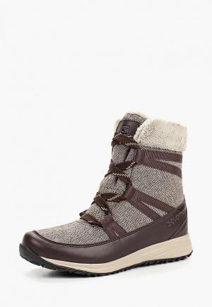 Ботинки Salomon HEIKA CS WP W. Цвет: коричневый