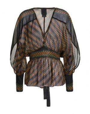 Блузка ANNA SUI. Цвет: верблюжий