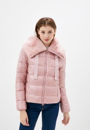 Куртка утепленная Rinascimento. Цвет: розовый