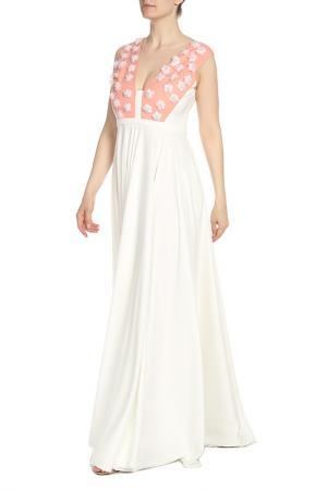 Платье Isabel Garcia. Цвет: bright white, peach bud