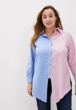 Рубашка Olsi. Цвет: разноцветный