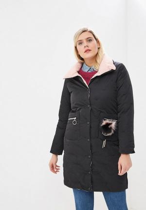 Куртка утепленная Bigtora. Цвет: черный