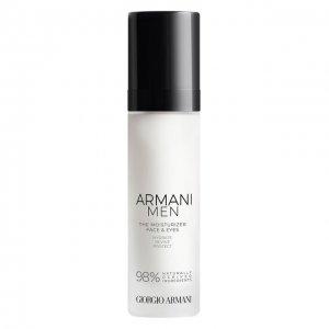 Увлажняющий крем для лица и области вокруг глаз Armani Men Giorgio. Цвет: бесцветный