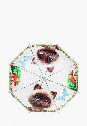 Зонт-трость Goroshek. Цвет: разноцветный