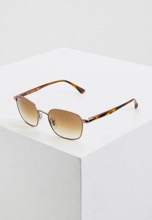 Очки солнцезащитные Ray-Ban® RB3664 121/51. Цвет: золотой