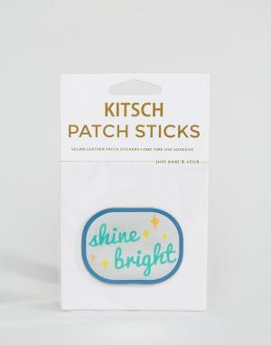 Нашивка Shine Bright Kitsch. Цвет: мульти