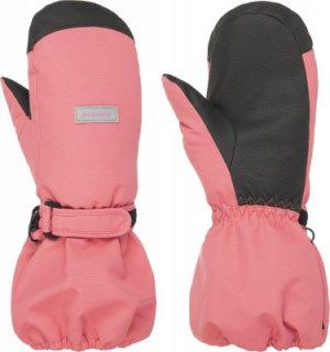Варежки для девочек , размер 1,5 Ziener. Цвет: розовый