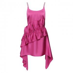 Платье Christopher Kane. Цвет: розовый