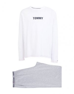 Пижама TOMMY HILFIGER. Цвет: белый
