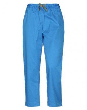 Повседневные брюки SUN 68. Цвет: лазурный